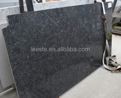 2016 Steel Grey absolute black granite flame granite