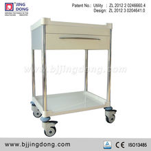 Hospital Medical treatment Trolley/cart with aluminum case drawer