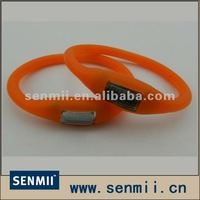 SM-SSW 024 Ion Ion Silicone Tourmaline Watch