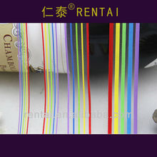 1/4''(7mm) Romantic Wholesale Juvenile Rainbow Hair bow mesh netting Spring sheer ribbon