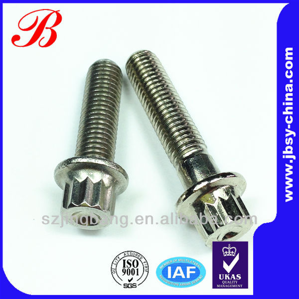 12 point flange shoot bolt manufacturer