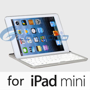 New 3 in 1 Wireless Aluminum Bluetooth Keyboard Case for iPad Mini