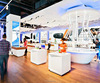 Funroad Mobile phone shop interior design with display showcase