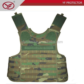 Level iv body armor light weight level 3 bulletproof vest