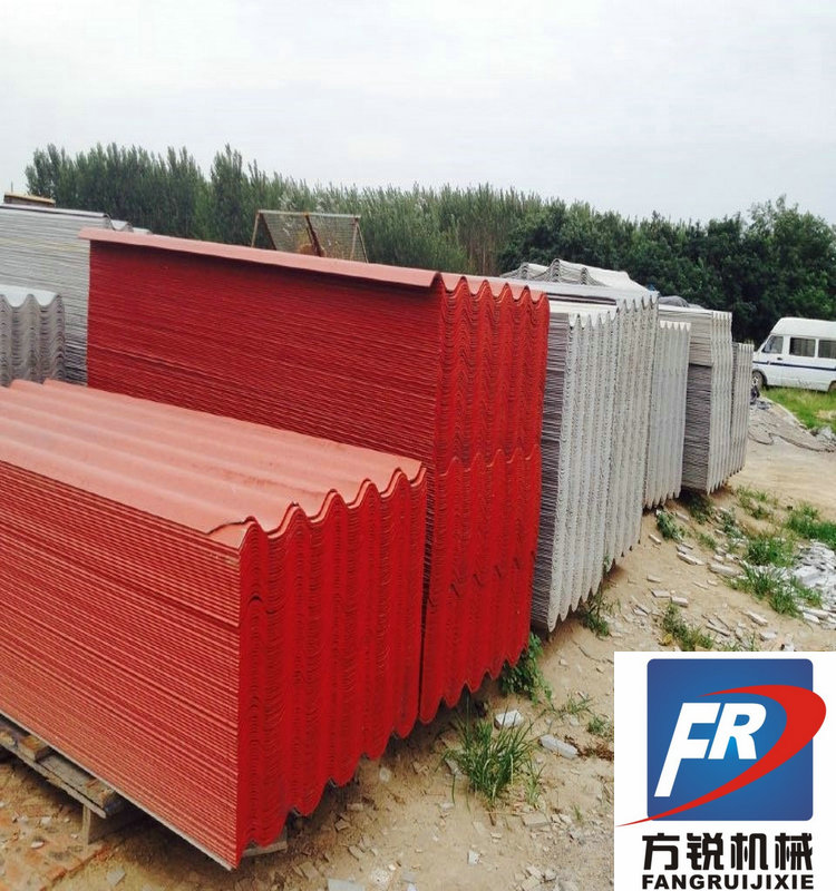 fibre cement roofing sheet profiling making machine price