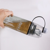 outdoor sports 600ml hot sales protable Spray water bottle health plastic