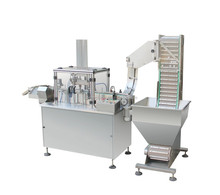 High speed foil washer liner inserting machine