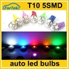 hot sale 12v auto led turning light bulb T10 5smd 5050 car plate light