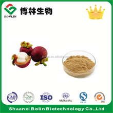 Mangosteen Peel Extract Mangostin 30% Powder HPLC in Bulk for Mangosteen Soap