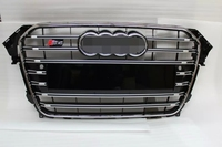 S4 style rs grille for Audi B9 A4 car 2013