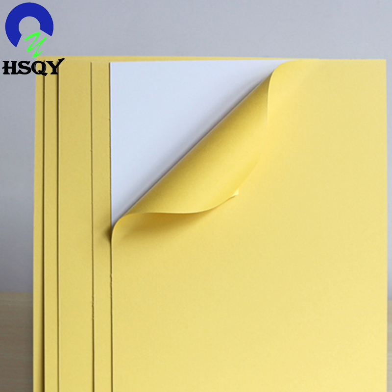 Double Side Self Adhesive PVC Sheet for Photo Album