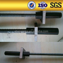 steel ground anchors Thread bars for tieback of retaining walls