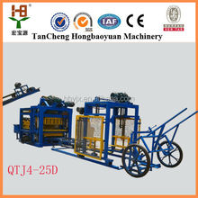 Concret Cement Sand Perlite Brick Raw Material Hollow Block making machine