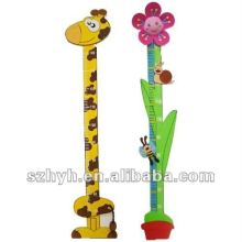 Promotional Eva foam cartoon animal growth ruler