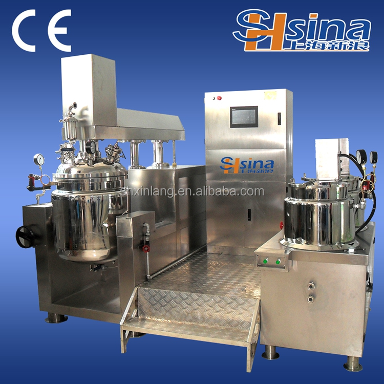automatic vacuum emulsifier industrial blender food mixer for chemical products Factory direct supply detergent mixing tank