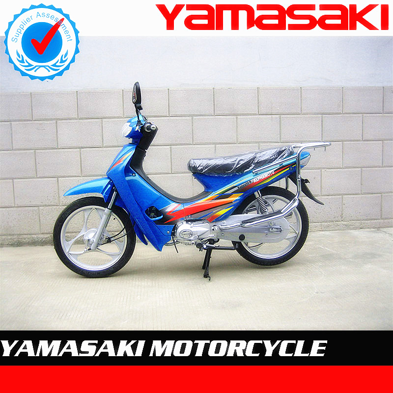 CHEAP 50CC GASOLINE BLUE COLOUR CUB BIKE MOTORCYCLE