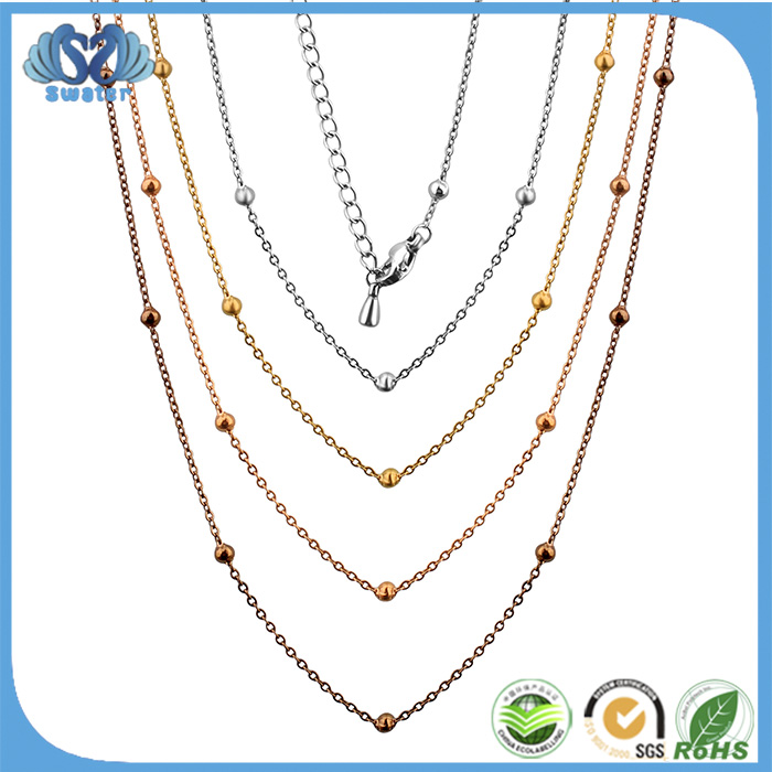 New Products 2016 Innovative Product Stainless Steel Baall New Gold Chain Design For Men