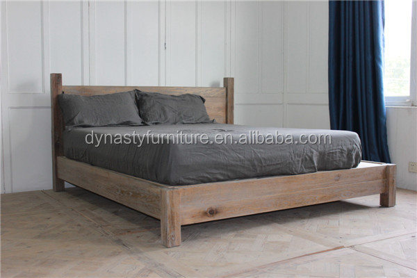 vintage furniture reclaimed wooden <strong>bed</strong> design