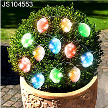 Solar string lights with egg design, for outdoor decoration, for Easter