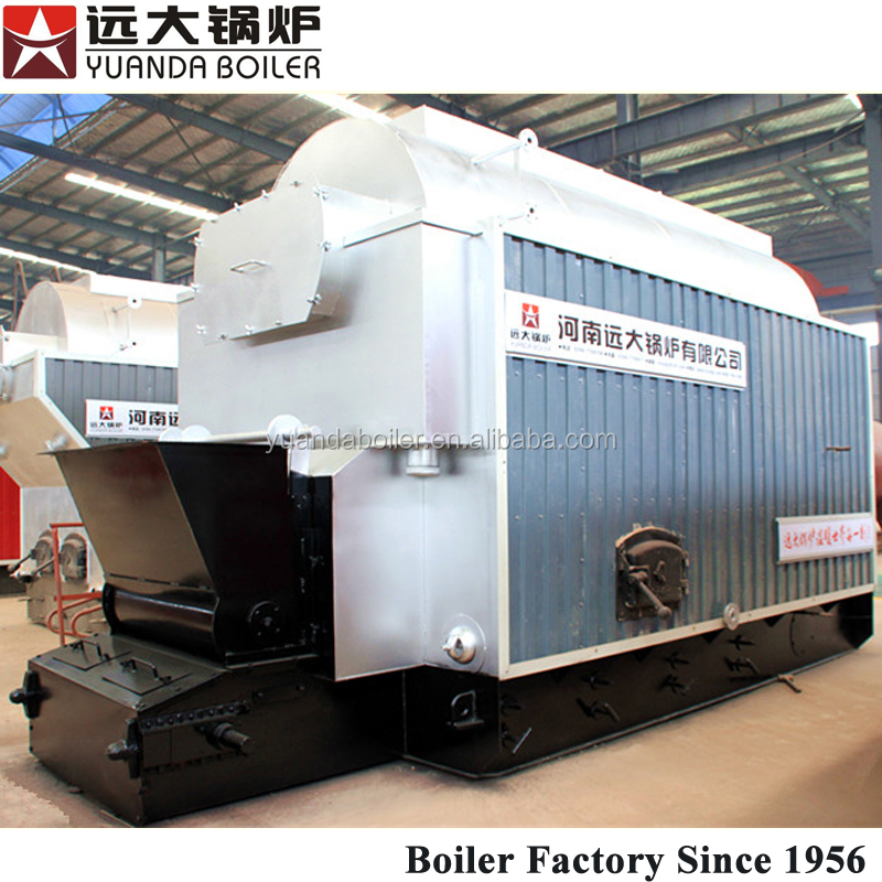 8 t/h Industrial Coal Steam Boiler Overseas Installtion & Comminssioning Service Provide
