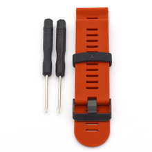 2017 Hot selling Soft Silicone Rubber Replacement 26mm Watch Strap Band Wirst Watch