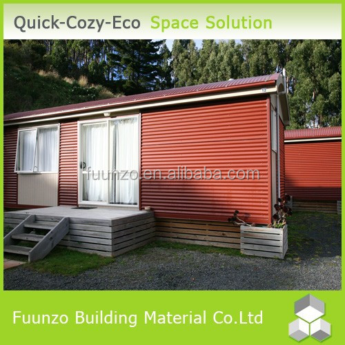 Well-designed Precast Modern Plastic Timber Living Homes