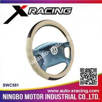 Xracing-SWC551 steering wheel cover wholesale,design your steering wheel cover,auto steering wheel cover for AUDI