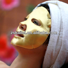 gold collagen crystal facial mask gold beauty