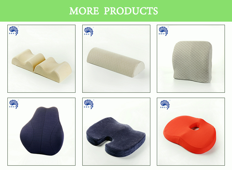 Premium grade memory foam wedge pillow