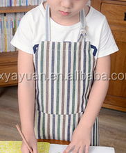 Children apron painting clothes Amoy summer fashion apron meal painting art aprons