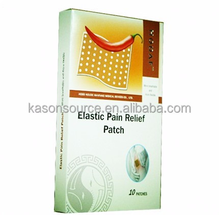 Wholesale price Chinese pain relief patch, muscle capsicum plaster for muscle