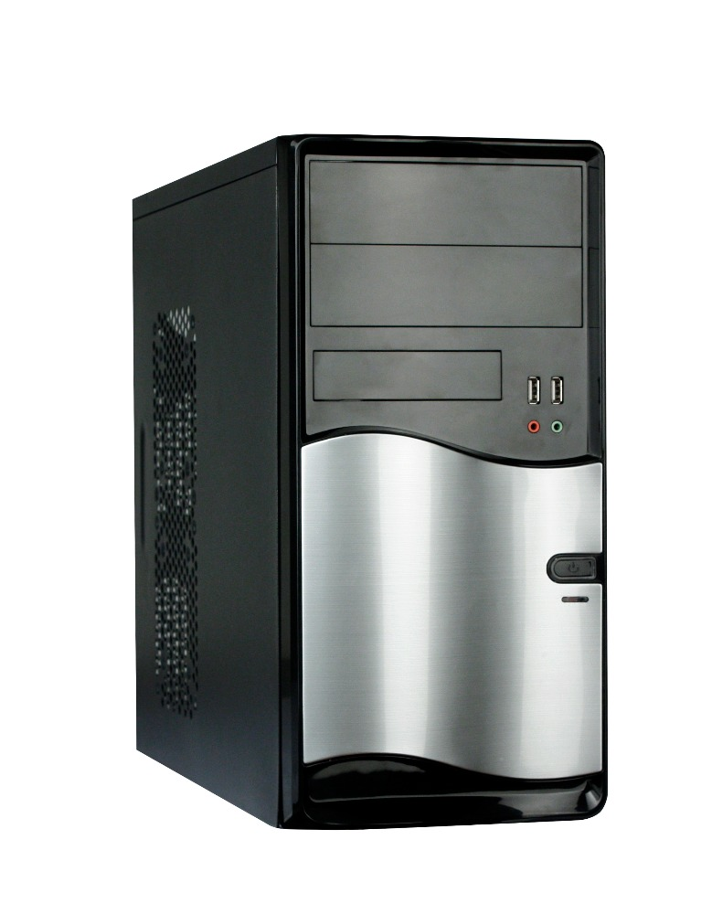 Wholesale Custom Branded PC Standard ATX Computer Case with PSU