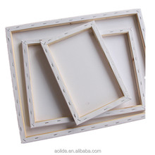 Cotton blank stretched frame painting canvas