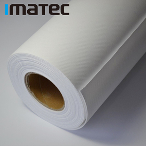 Wide Format Waterproof 220gsm Polyester Matte Canvas Roll, Canvas For Digital Printing