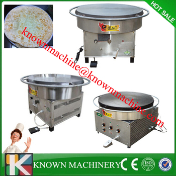 600-900mm rotating crepe maker/flapjack and chapatti making machine