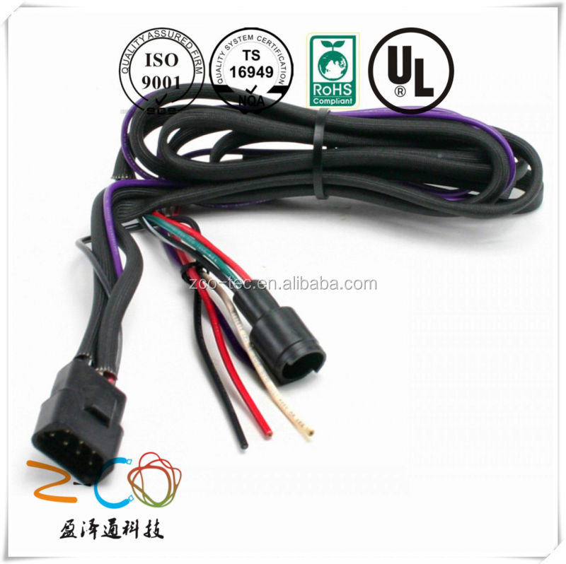 Custom 12v 35w wiring harness controller hid with UL certification