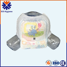 hot sale in India/Pakistan Super Soft Good Quality Disposable baby pants diaper manufactures in China