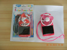 small solar power fan,outdoor mini solar fan,solar power/AC power little fan
