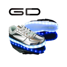GD new trend sequined leisure led shoes party night lights for shoes
