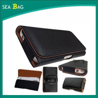 Horizontal Leather Holster Pouch Case with Magnetic Closure Belt Clip and Belt Loops for IPhone 6 (4.7)