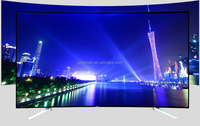 Newest 32inch 55inch 65inch crown led tv;4k curve ELED TV