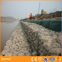 cheap high quality galfan or galanized gabion retaining wall wire mesh
