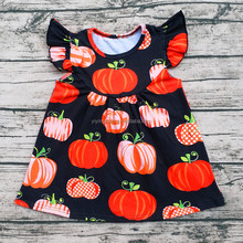 Halloween Latest Girl Top Printing Designs New Fashion Girls Tops