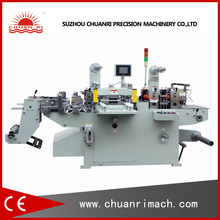 Adhesive Sticker Label Roll Machine With Die Cutting, Hot Stamping, Punching