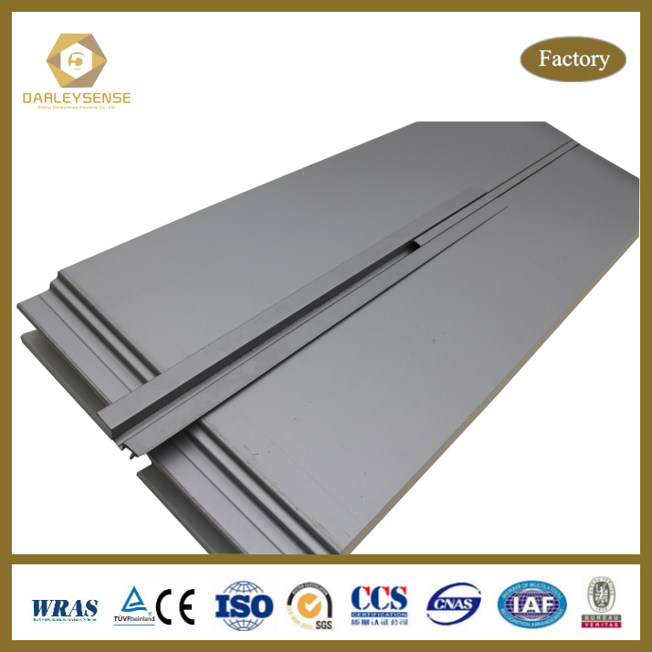 Sound Insulation 10 cm thick wall and ceiling sandwich panel for Factory Supplier
