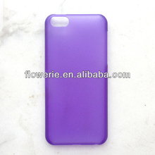 FL3396 Guangzhou high quality ultra thin 0.5mm hard pc back cover case for iphone 5c