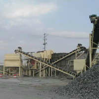Guangzhou mining machine manufacture of stone mining crushing pakur with feeder,crusher, belt