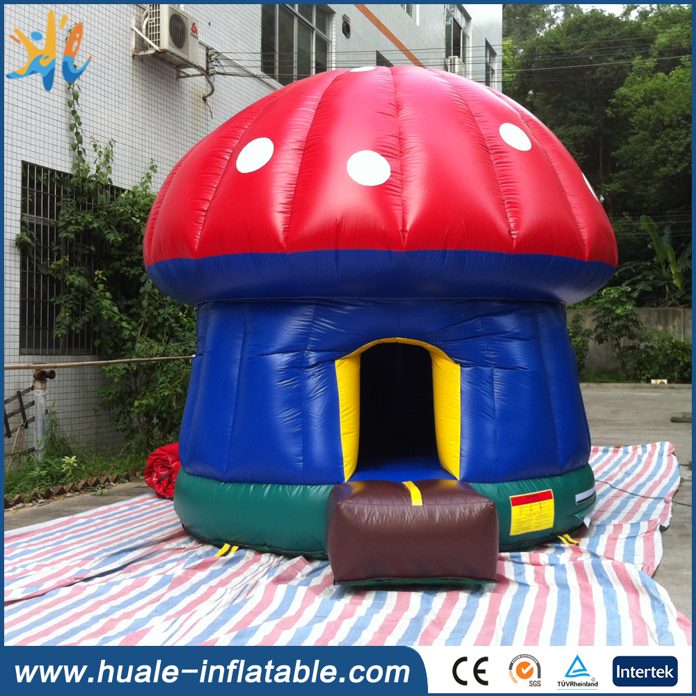 Mini Mushroom Inflatable Bounce House for Kids