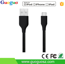 high quality USB 3.1 Cable Type C to USB 2.0 Data Cable for Apple New Macbook , Nokia N1, Tablet