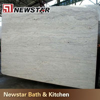 polished brazil river white granite price